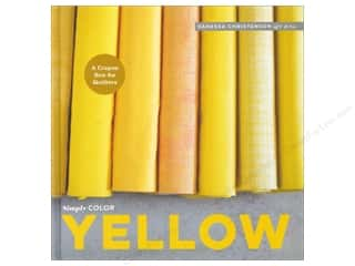 books & patterns: Simply Color: Yellow: A Crayon Box for Quilters Book by Vanessa Christenson