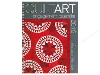 Holiday Gift Idea Sale $10-$25: American Quilter's Society 2016 Quilt Art Engagement Calendar
