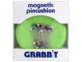 Grabbit Magnetic Pin Cushion - Lime Green