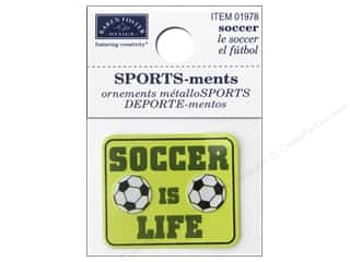 Karen Foster Sticker Sports-ment Soccer Is Life