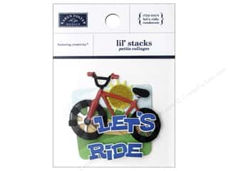 Karen Foster: Karen Foster Sticker Lil Stack Let's Ride