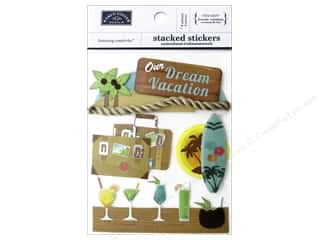 scrapbooking & paper crafts: Karen Foster Stacked Sticker Dream Vacation