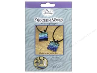 quilling tools: Quilled Creations Quilling Kit Necklace Modern Waves