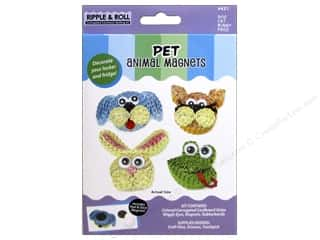 Quilled Creations Quilling Kit Animal Magnet Pets
