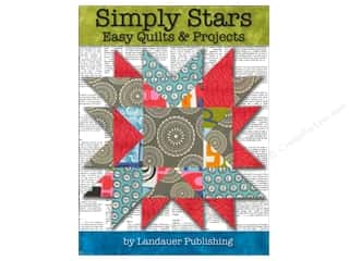 books & patterns: Simply Stars Easy Quilts and Projects Book by Landauer Publishing