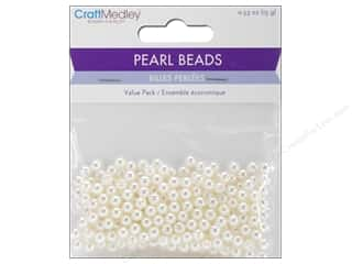 craft & hobbies: Multicraft Bead Pearl 5mm Ivory 265 pc.