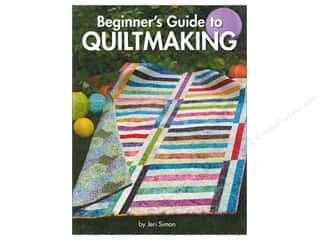 Beginner's Guide To Quiltmaking Book by Jeri Simon