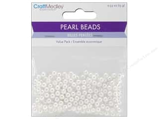 craft & hobbies: Multicraft Bead Pearl 5mm White 265 pc.