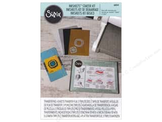 die cutting machines: Sizzix Accessories Inksheets Starter Kit