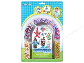 beading & jewelry making supplies: Perler Fused Bead Kit Ocean 2000pc