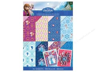 "Everything You Love Sale Scrapbooking: EK Paper Pad Disney Frozen 8.5""x 11"""