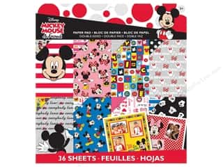 "Everything You Love Sale Scrapbooking: EK Paper Pad Disney 12""x 12"" Mickey Friends"