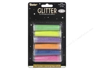 Darice Fine Glitter 1/4 oz. Neon Set 6 pc.