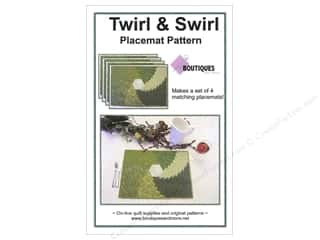 Boutiques And More Twirl & Swirl Placemat Pattern