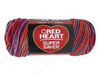 Red Heart Super Saver Yarn Sunrise 236 yd.