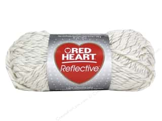 yarn & needlework: Red Heart Reflective Yarn 88 yd. #8112 Aran