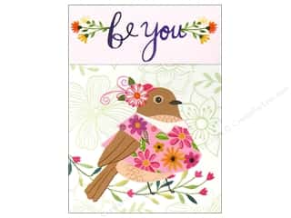 Gifts & Giftwrap: Molly & Rex Pocket Note Pad Words In Bloom Be You Birdy