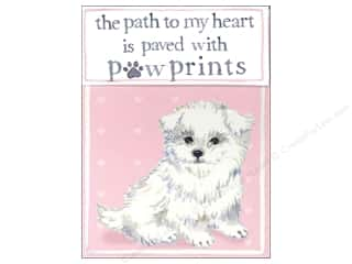 Molly & Rex Pocket Note Pad Pawprints Puppy