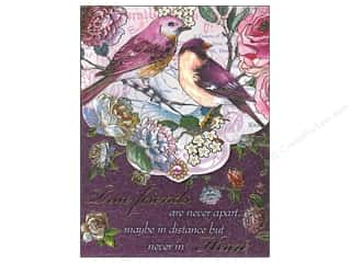 Gifts & Giftwrap: Punch Studio Pocket Note Pad Words Of Wisdom Plum Birds Friends