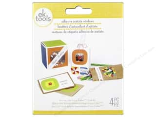 EK Tool Window Adhesive Square 4pc