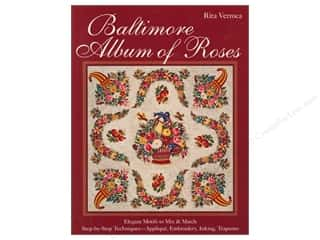 C&T Publishing Baltimore Album of Roses Book by Rita Verroca