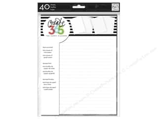 Me&My Big Ideas Create 365 Happy Planner Note & Graph Paper Classic