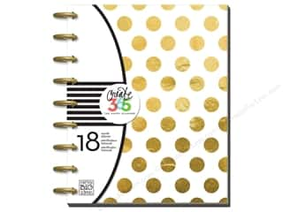 Holiday Gift Ideas Sale Gifts: Me&My Big Ideas Create 365 Happy Planner Planner Gold Dot
