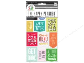 Me&My Big Ideas Collection Create 365 Happy Planner Sticker Show Up