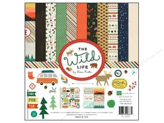 Clearance Echo Park Collection Kit: Echo Park 12 x 12 in. Collection Kit Wild Life