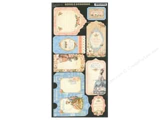 Graphic 45: Graphic 45 Gilded Lily Collection Tags & Pockets