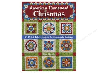 C&T Publishing Amercian Homestead Christmas Book by Ellen Murphy