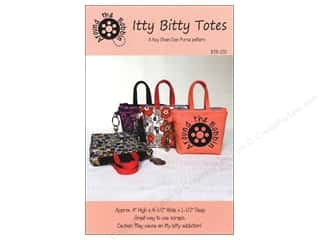 Tote Bags / Purses Patterns: Around The Bobbin Itty Bitty Totes Pattern