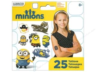 stickers: SandyLion Tattoo Universal Minions Movie Mini 25pc