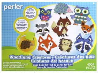projects & kits: Perler Fused Bead Kit Large Woodland Critters 4000pc