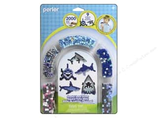 beading & jewelry making supplies: Perler Fused Bead Kit Sharks 2000pc