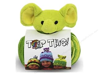 Multi Colored Yarn: DMC Yarn Kit Top This Elephant