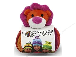 Multi Colored Yarn: DMC Yarn Kit Top This Lion