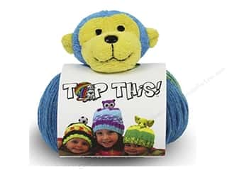 Multi Colored Yarn: DMC Yarn Kit Top This Monkey