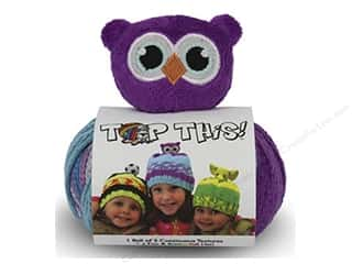 Multi Colored Yarn: DMC Yarn Kit Top This Owl
