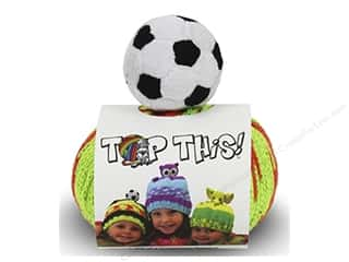 yarn & needlework: DMC Top This Yarn Kit Soccer Ball