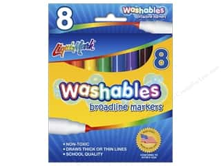 Liquimark Marker Set Broadline Washables 8 pc