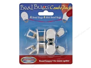 beading & jewelry making supplies: Bead Buddy Bead Bugs 8 pc. Combo Pack