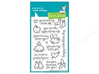 Valentines Day Gifts Paper: Lawn Fawn Clear Stamp My Silly Valentine
