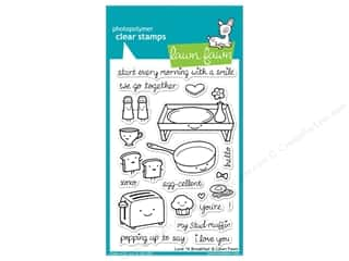 Cups & Mugs: Lawn Fawn Clear Stamp Love 'n Breakfast