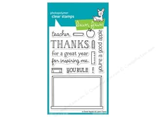 Clearance Plaid Stamps Clear: Lawn Fawn Clear Stamp A Good Apple