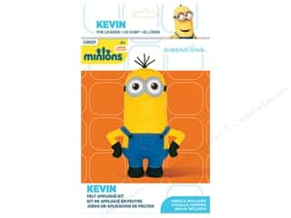 craft & hobbies: Dimensions Applique Kit Felt Minions Kevin