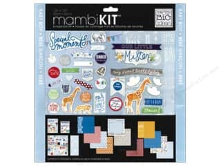 Me & My Big Ideas Scrapbook Kit 12 x 12 in. Cool Baby Boy