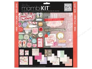 Me & My Big Ideas 12 x 12 in. Scrapbook Kit Sweet Baby Girl