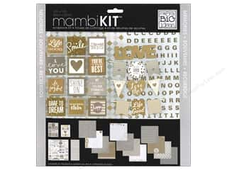 Everything You Love Sale Scrapbooking: Me & My Big Ideas 12 x 12 in. Scrapbook Kit Memories