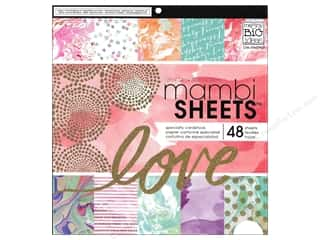 Me & My Big Ideas Sheets Cardstock Pad 12 x 12 in. Modern Marble